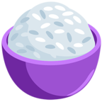🍚 Facebook / Messenger Cooked Rice Emoji - Facebook Messenger