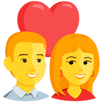 Facebook Emoji 💑 - Couple With Heart Messenger