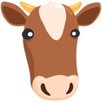 Facebook Emoji 🐮 - Cow Face Messenger