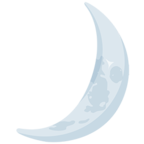 Facebook Emoji 🌙 - Crescent Moon Messenger