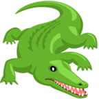 Смайлик Facebook 🐊 - Crocodile В Messenger'е