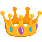 👑 Facebook / Messenger Crown Emoji - Facebook Messenger