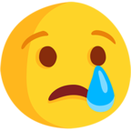 Facebook Emoji 😢 - Crying Face Messenger