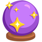 🔮 Facebook / Messenger «Crystal Ball» Emoji - Messenger Application version