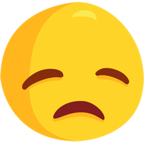 😞 Facebook / Messenger Disappointed Face Emoji - Facebook Messenger
