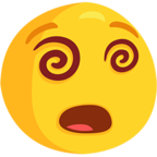 Facebook Emoji 😵 - Dizzy Face Messenger