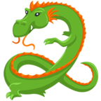Facebook Emoji 🐉 - Dragon Messenger