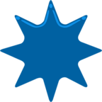 ✴ Facebook / Messenger «Eight-Pointed Star» Emoji - Messenger Application version