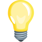 💡 Facebook / Messenger Light Bulb Emoji - Facebook Messenger