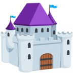🏰 Facebook / Messenger «Castle» Emoji - Messenger Application version