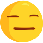 😑 Facebook / Messenger Expressionless Face Emoji - Facebook Messenger