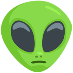 👽 Facebook / Messenger Alien Emoji - Facebook Messenger