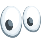 👀 Facebook / Messenger Eyes Emoji - Facebook Messenger