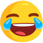 Facebook Emoji 😂 - Face With Tears of Joy Messenger