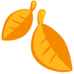 🍂 Facebook / Messenger Fallen Leaf Emoji - Facebook Messenger