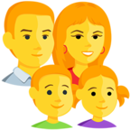 👪 Facebook / Messenger «Family» Emoji - Messenger Application version