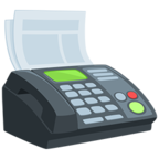 📠 Facebook / Messenger Fax Machine Emoji - Facebook Messenger