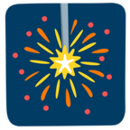 🎇 Facebook / Messenger «Sparkler» Emoji - Messenger Application version