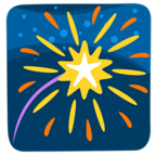 🎆 Facebook / Messenger «Fireworks» Emoji - Messenger Application version