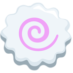 Facebook Emoji 🍥 - Fish Cake With Swirl Messenger
