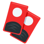 🎴 Facebook / Messenger «Flower Playing Cards» Emoji - Messenger Application version