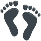 Facebook Emoji 👣 - Footprints Messenger