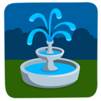 ⛲ Facebook / Messenger «Fountain» Emoji - Messenger Application version