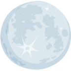🌕 Смайлик Facebook / Messenger Full Moon - В Facebook Messenger'е