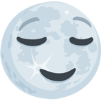 Facebook Emoji 🌝 - Full Moon With Face Messenger