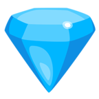 💎 Facebook / Messenger Gem Stone Emoji - Facebook Messenger