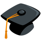 🎓 Facebook / Messenger «Graduation Cap» Emoji - Messenger Application version