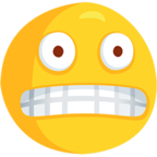 😬 Facebook / Messenger Grimacing Face Emoji - Facebook Messenger