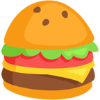 🍔 Facebook / Messenger Hamburger Emoji - Facebook Messenger