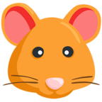 🐹 Facebook / Messenger Hamster Face Emoji - Facebook Messenger