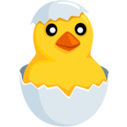 🐣 Facebook / Messenger Hatching Chick Emoji - Facebook Messenger