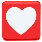 💟 Facebook / Messenger Heart Decoration Emoji - Facebook Messenger
