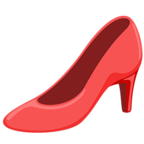 Смайлик Facebook 👠 - High-Heeled Shoe В Messenger'е