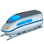 🚄 Facebook / Messenger «High-Speed Train» Emoji - Messenger Application version