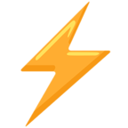 ⚡ Facebook / Messenger «High Voltage» Emoji - Messenger Application version