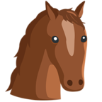 🐴 Facebook / Messenger «Horse Face» Emoji - Messenger Application version