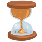 ⏳ Facebook / Messenger «Hourglass With Flowing Sand» Emoji - Messenger Application version
