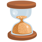 Facebook Emoji ⌛ - Hourglass Messenger