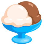 Смайлик Facebook 🍨 - Ice Cream В Messenger'е