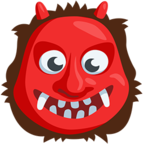 👹 Facebook / Messenger Ogre Emoji - Facebook Messenger
