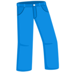 👖 Смайлик Facebook / Messenger Jeans - В Facebook Messenger'е