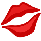 💋 Kiss Mark Emoji para Facebook / Messenger - Facebook Messenger
