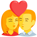 💏 Kiss Emoji para Facebook / Messenger - Facebook Messenger