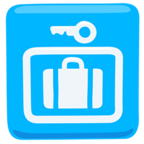 🛅 Facebook / Messenger Left Luggage Emoji - Facebook Messenger