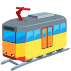 🚈 Facebook / Messenger Light Rail Emoji - Facebook Messenger