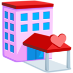 🏩 Facebook / Messenger «Love Hotel» Emoji - Messenger Application version